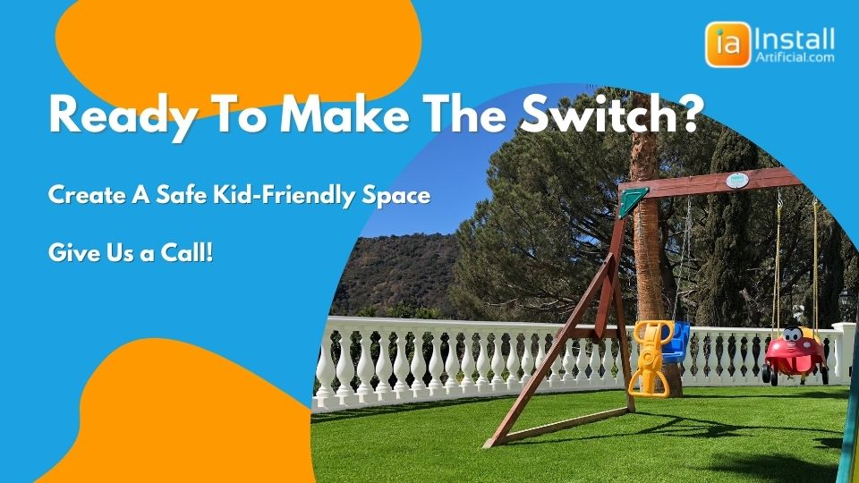 ready to make the switch to artificial grass installation on playgrounds