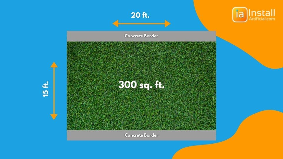 example yard to diagnose costs during putting green installation to get an idea of price for the artificial turf project.