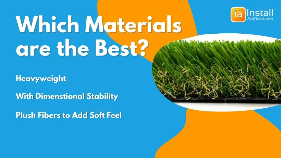 which materials are best for balcony turf