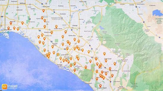 Installartificial-locations-Irvine Newport Beach Laguna Niguel