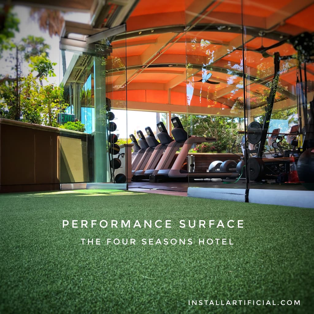 gym artificial grass los angeles
