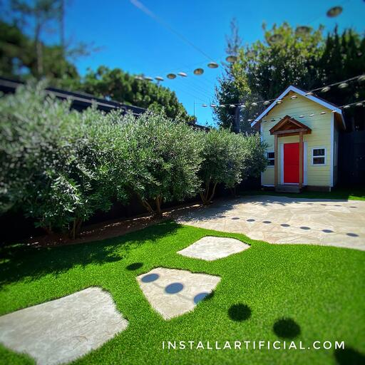 residential pet turf system