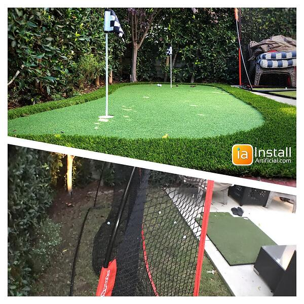 small putting green installation Irvine