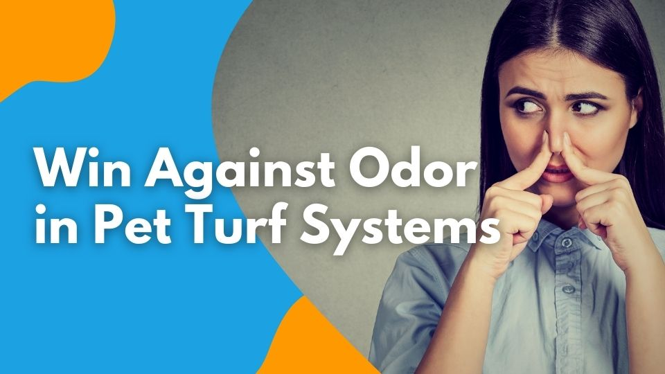 Win Against Odor in Pet Turf Systems