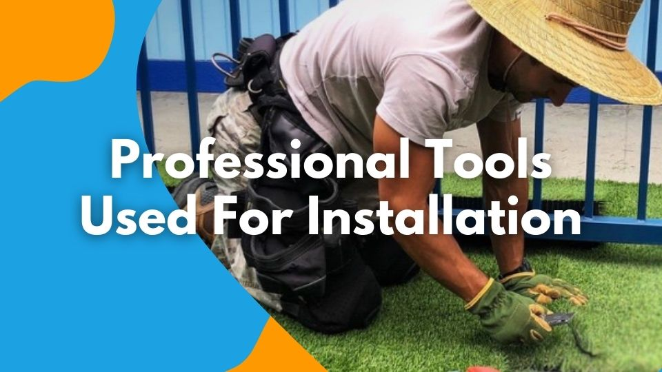 Professional Tools Used For Installation