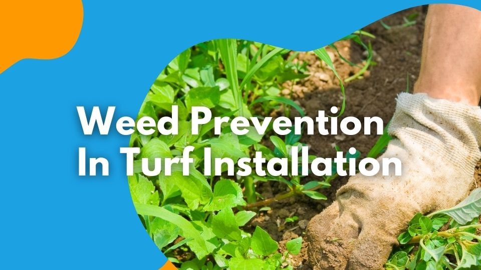 weed prevention in Artificial turf installation