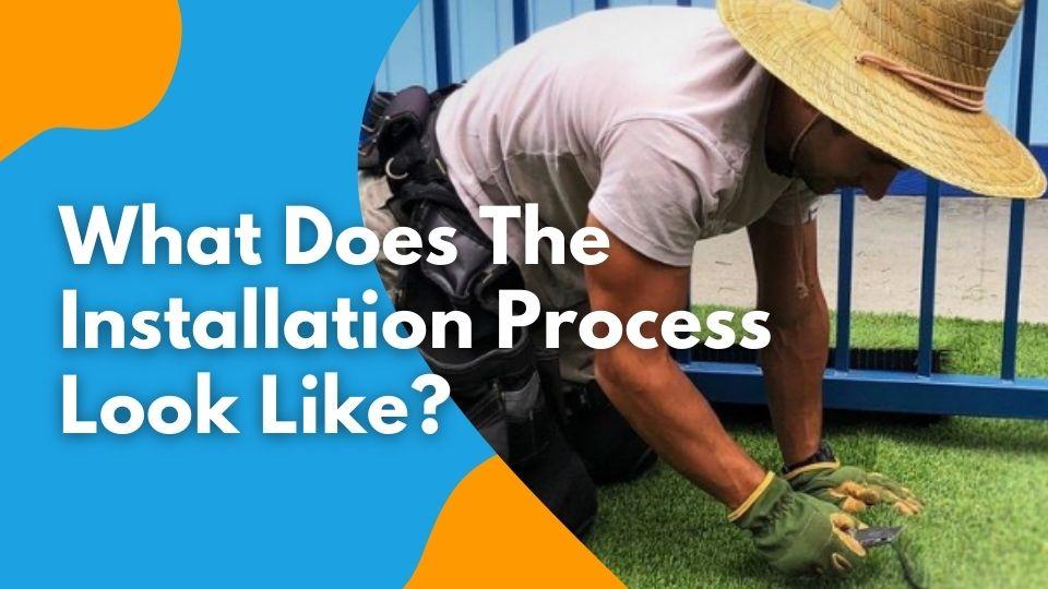 Turf Installation Process