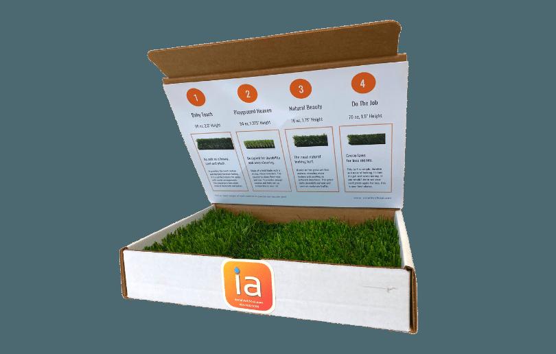 Sample Turf Box InstallArtificial