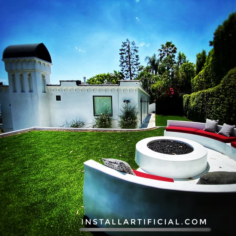 Artificial grass installation Torrance
