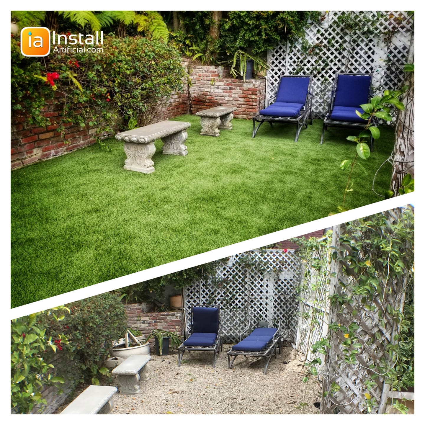 affordable synthetic turf projects