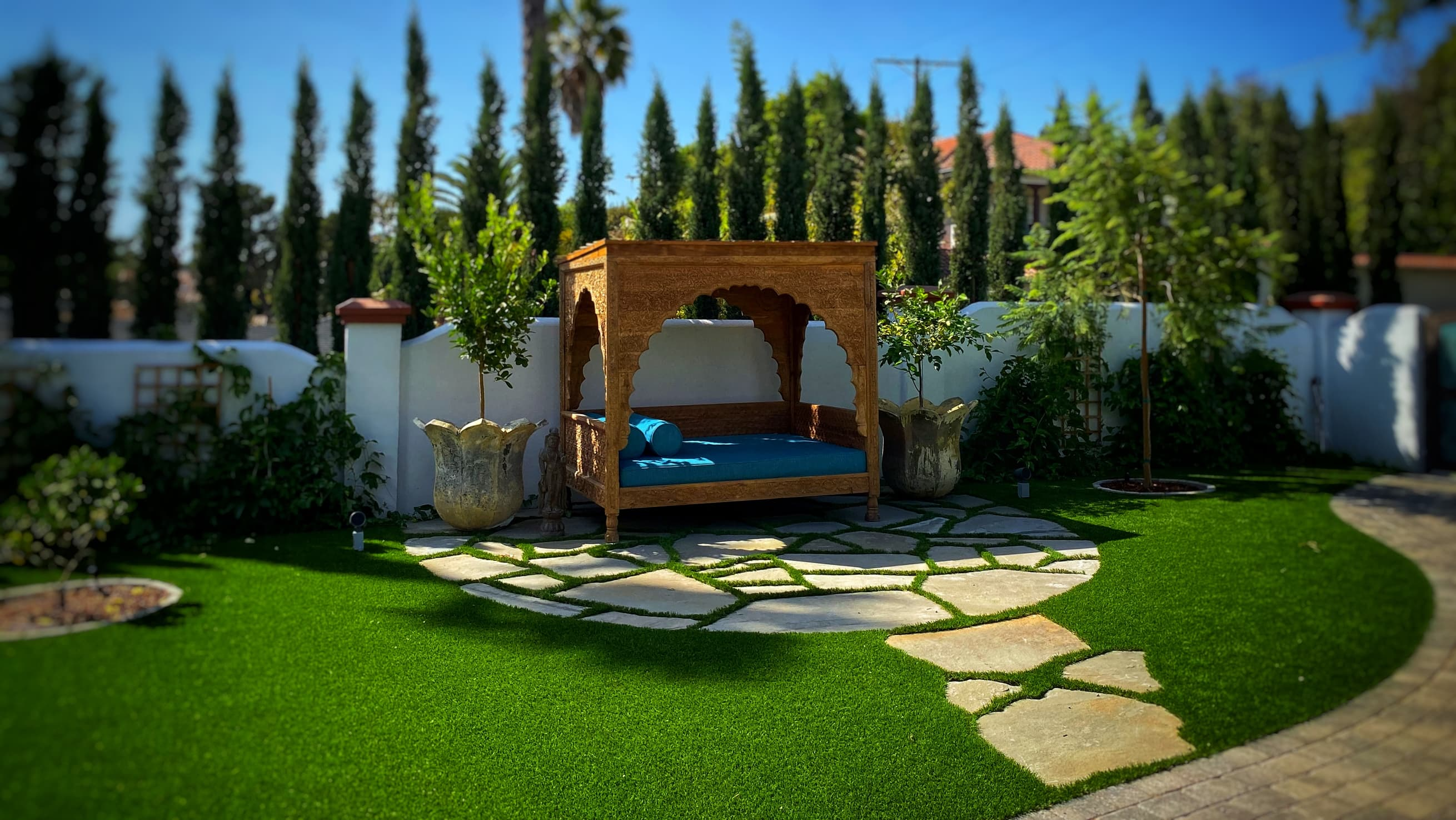 artificial grass pavers