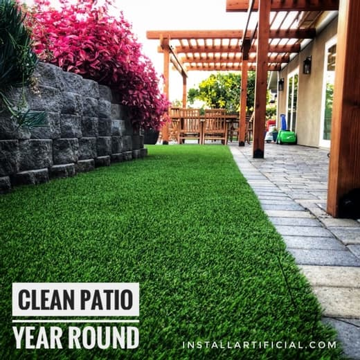 pavers, turf, gdazibo and retaining wall project