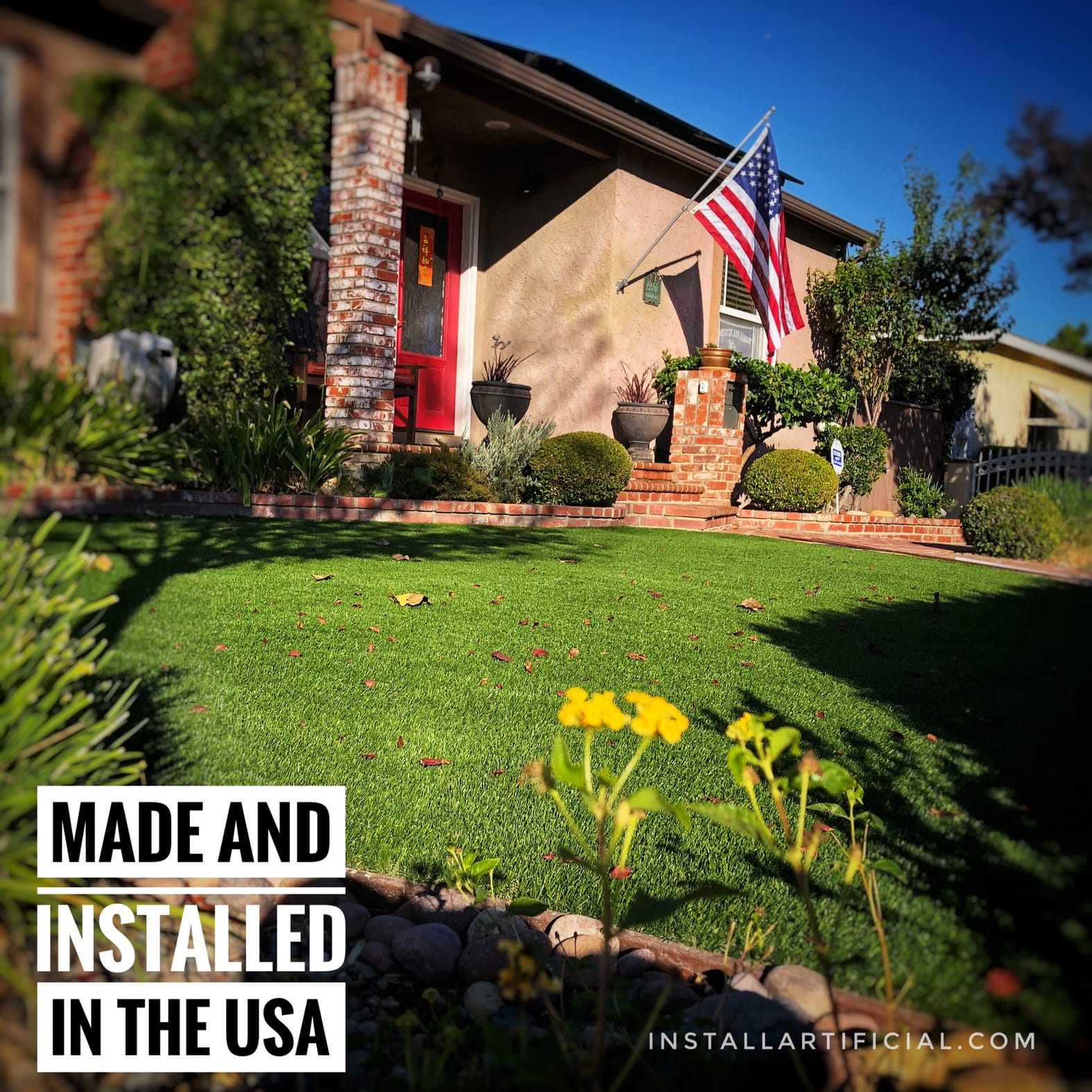usa made artificial grass