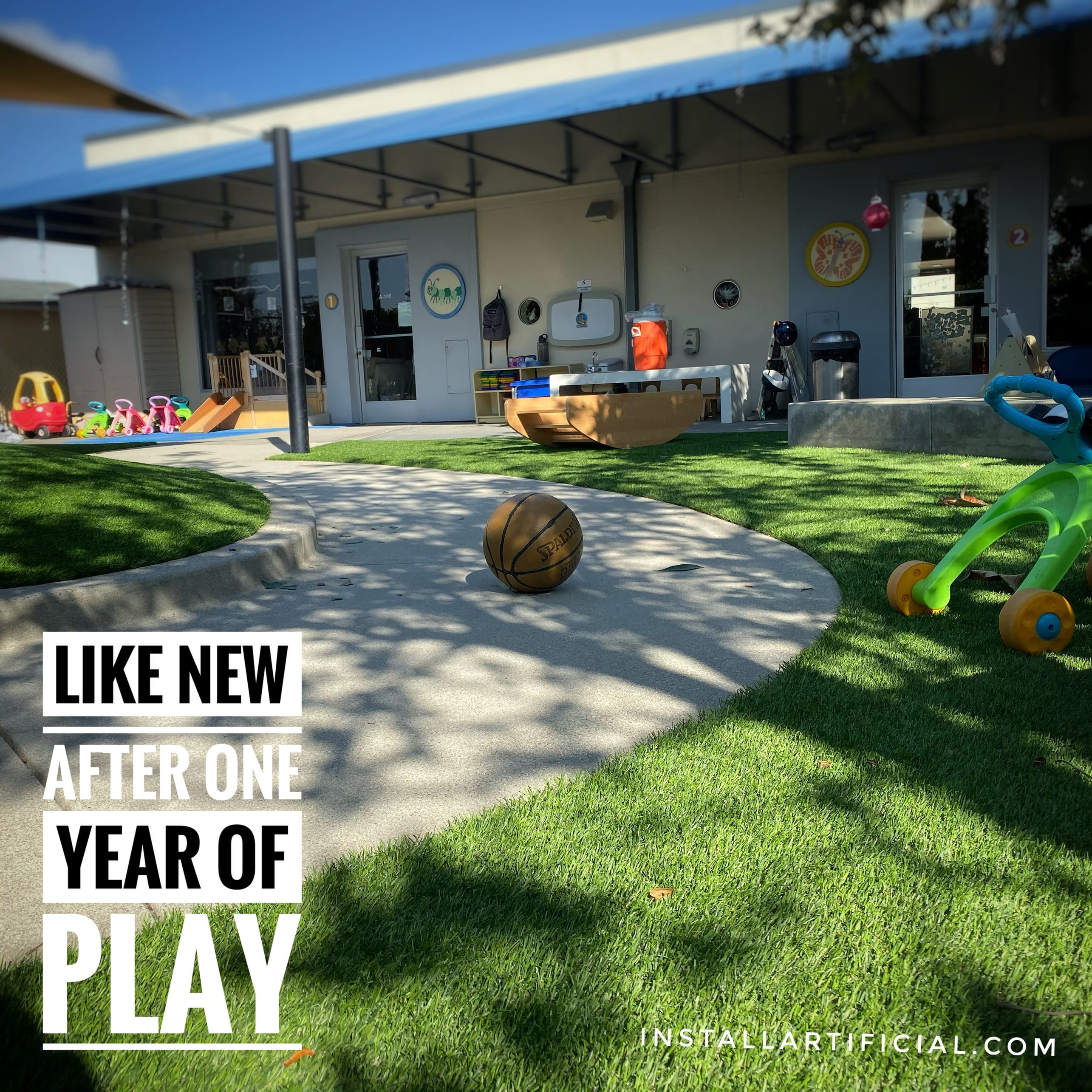 Safe nail free Playground system