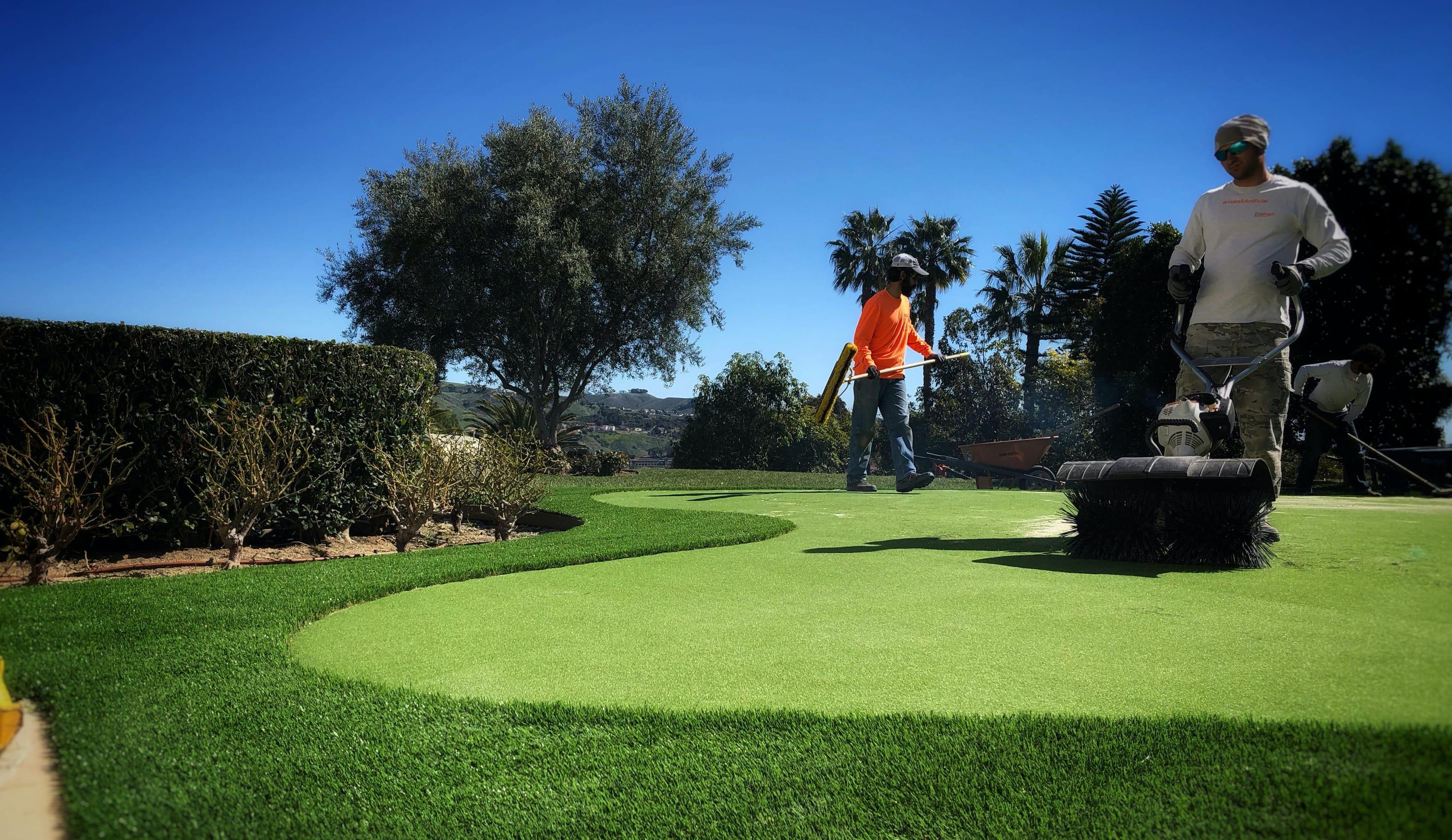 putting green horizontal