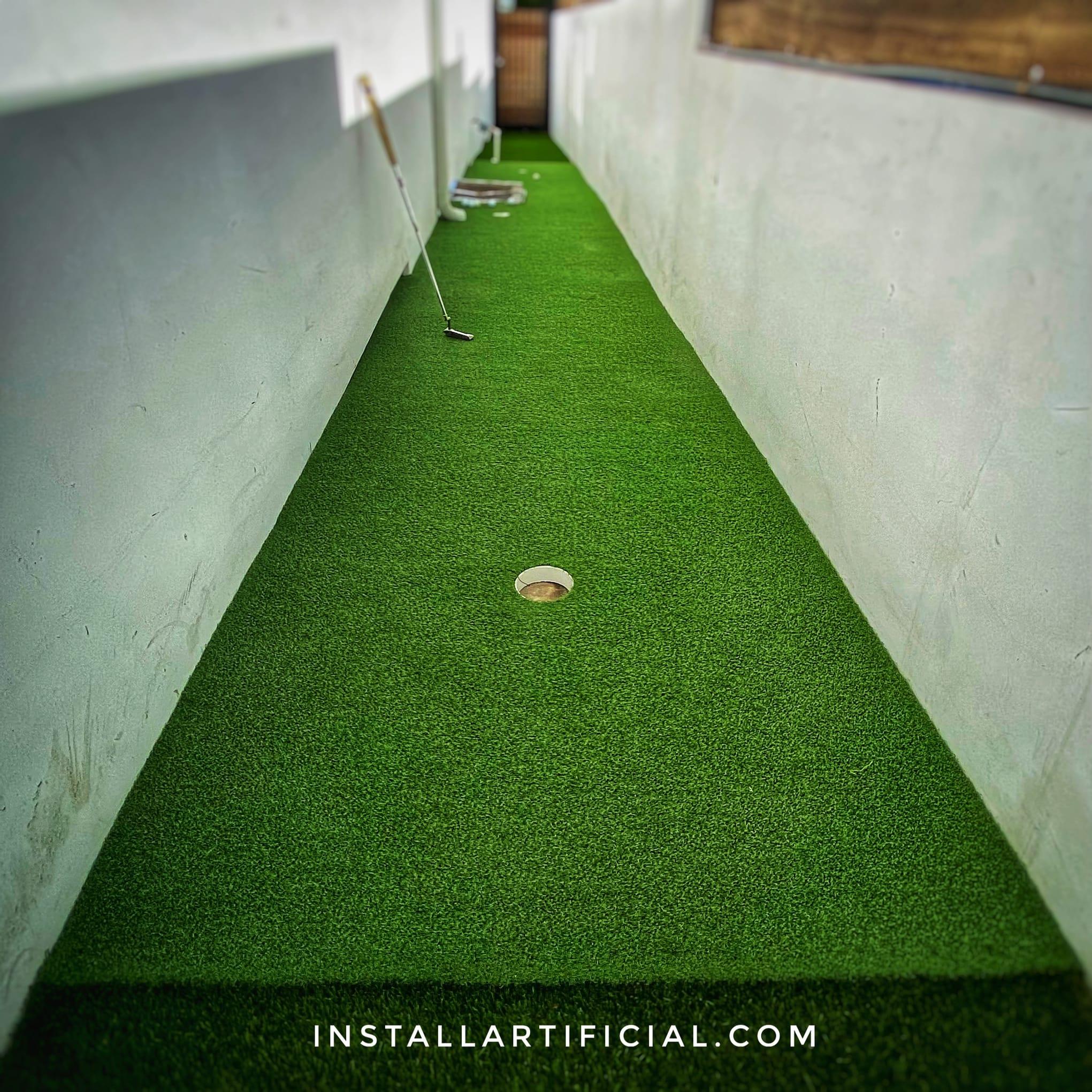 sideyard little puttin green