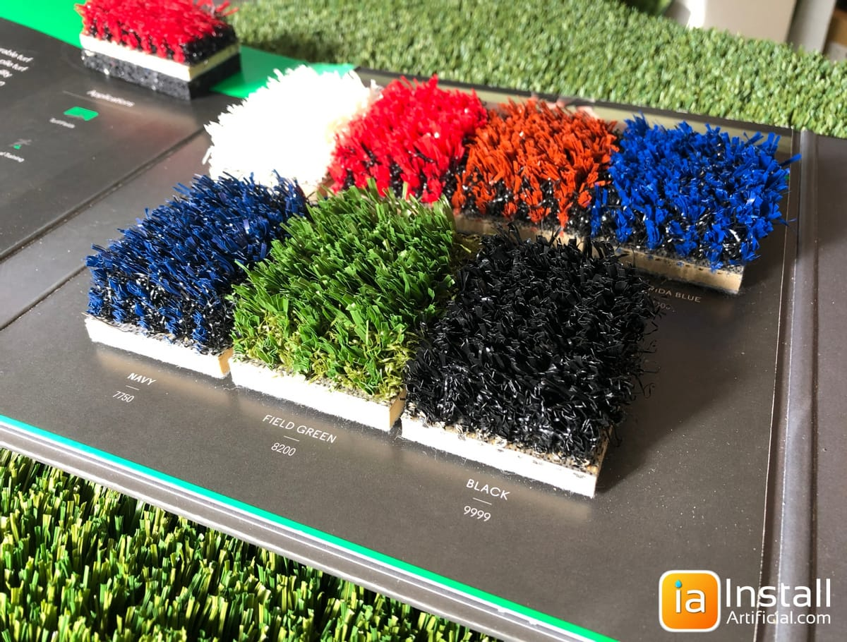Athletic synthetic turf