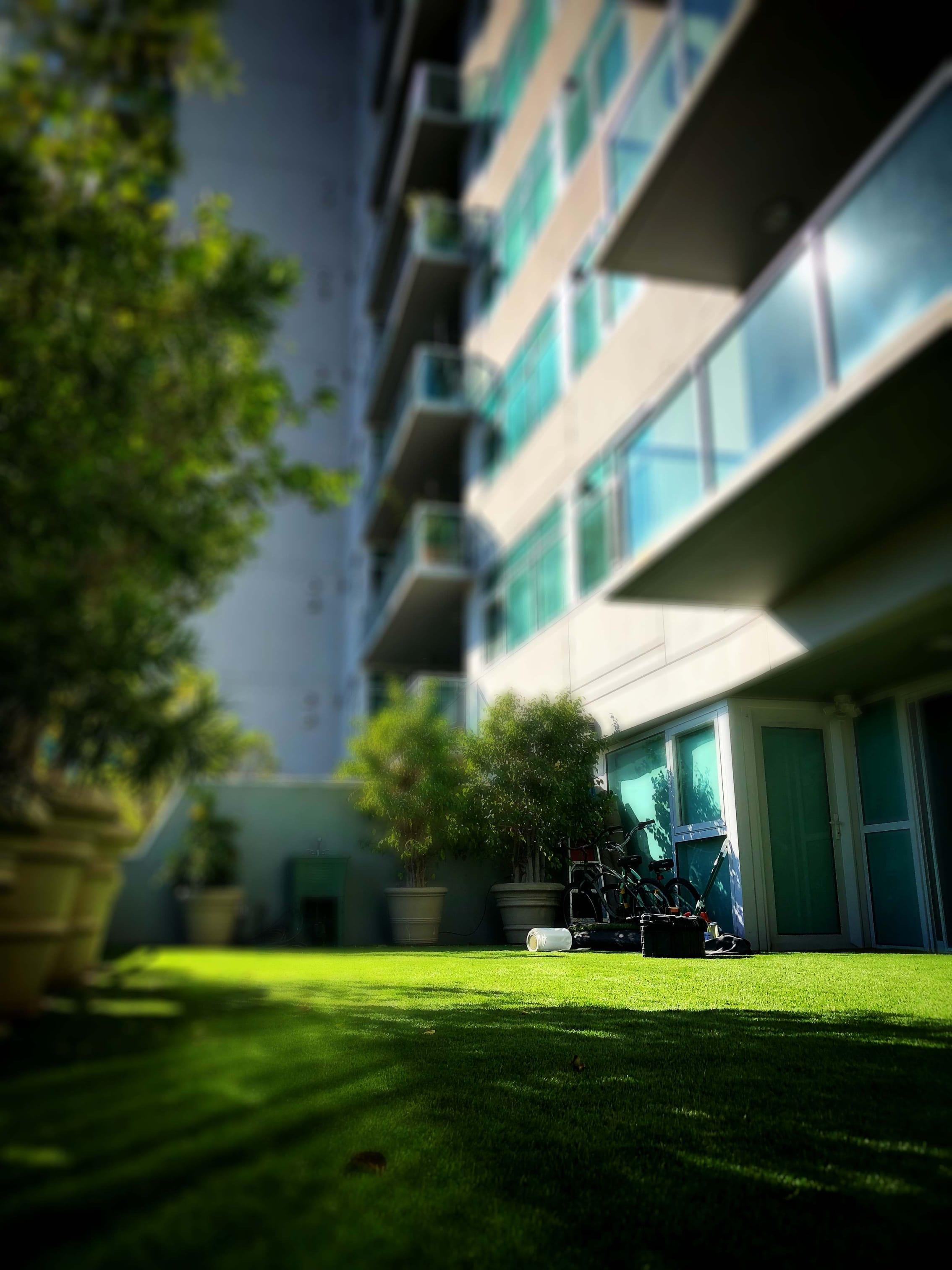 atificial grass balcony 2