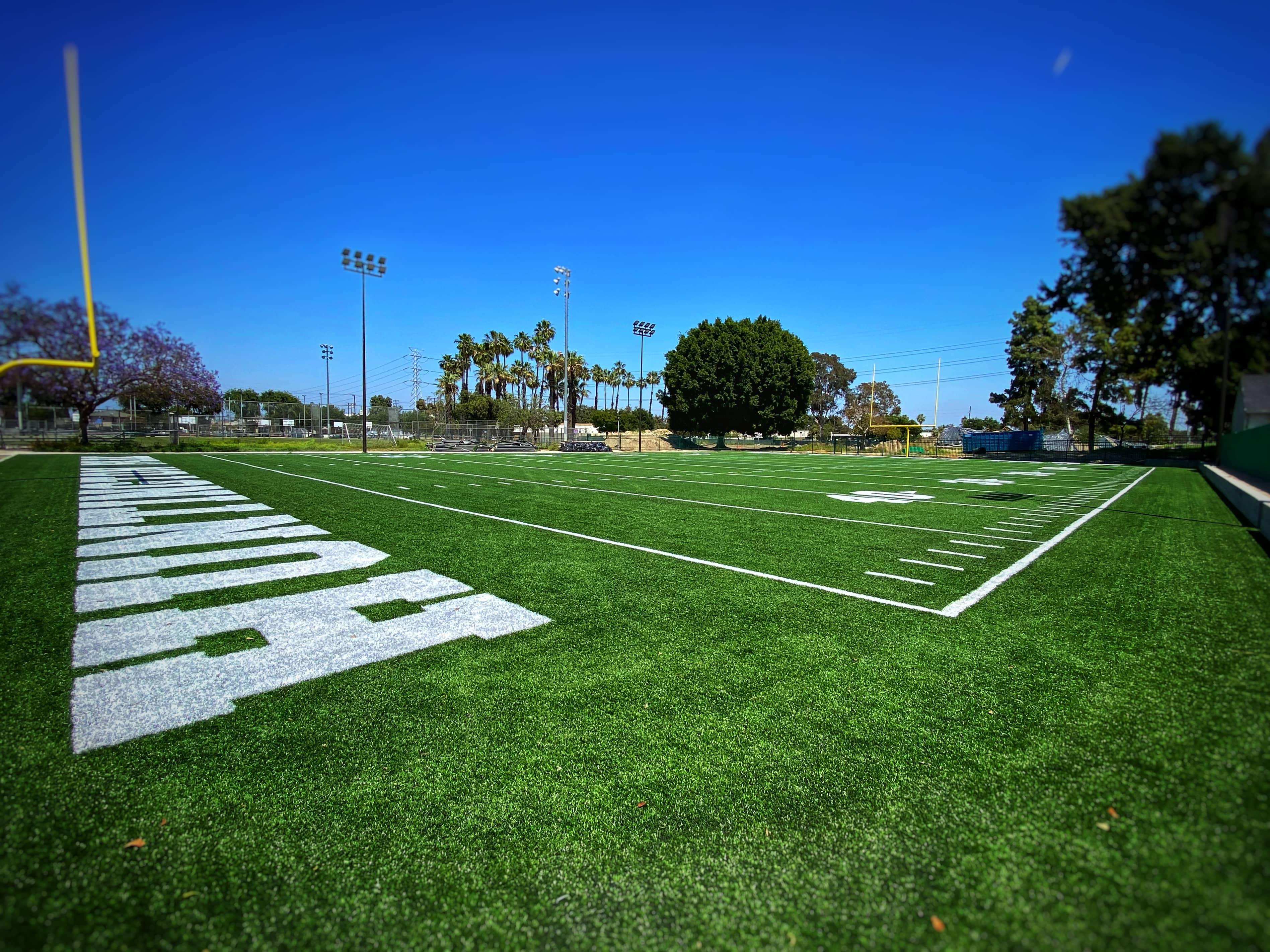 Football field installers los angeles